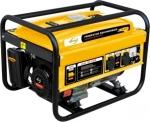 Генератор бензиновый GE 2500, 2,5 кВт, 220В/50Гц, 15 л, ручной старт, DENZEL, 94681