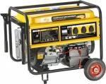 Генератор бензиновый GE 6900E, 5,5 кВт, 220В/50Гц, 25 л, электростартер, DENZEL, 94684
