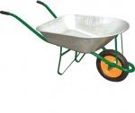 Тачка садовая, грузоподъемность 160 кг, объем корыта 78 л, PALISAD, 689157