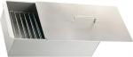Коптильня двухъярусная 420x270x175, нерж. сталь, 0,8 мм с поддоном, PALISAD Camping, 69528