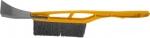 Щетка-сметка для снега со скребком, 415 мм, SPARTA, 552915