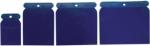 Набор шпателей японских пластмассовых, 50-75-100-120 мм, 4 шт., SPARTA, 860045