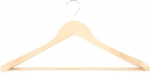 Вешалка деревянная для верхней одежды с антискользящей перекладиной, ELFE, 92915