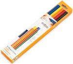 Клеевые стержни 11х250 мм, разноцветные, STEINEL, 006815