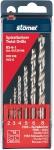 Набор сверл по металлу BS-6-1, 6 шт, STOMER, 93729196