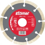Диск алмазный DD-115, для сухой резки, 115 мм, STOMER, 93729769