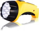 Фонарь LA-07 аккумуляторный, 7 светодиодов, вилка д/прямой зарядки, ЯРКИЙ ЛУЧ, 4606400104292