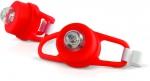 Фонарь RED-1 сигнальный для велосипеда, красный LED, 2 режима, ЯРКИЙ ЛУЧ, 4606400609179