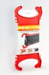 Держатель проводов пластиковый, LUX, 4606400606857