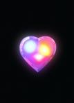 Ночник в форме сердца KOCNL_LP1009, КОСМОС