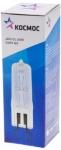 Галогенная лампа капсульная JDC G9, прозрачная, 60Вт, 230V, КОСМОС