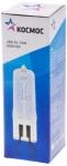 Галогенная лампа капсульная JDC G9, прозрачная, 75Вт, 230V, КОСМОС