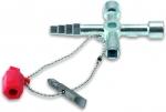 Универсальный шкафной ключ из литого цинка, CIMCO, 112922