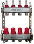 """Коллектор IWS с расходомерами 1""""х 3/4"""" 12 вых., нерж., NEPTUN, 411076000044"""