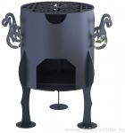 Печь для казанов, сборная, 8 л, 6 мм, ЦАРЬ-ПЕЧЬ, 00000004405